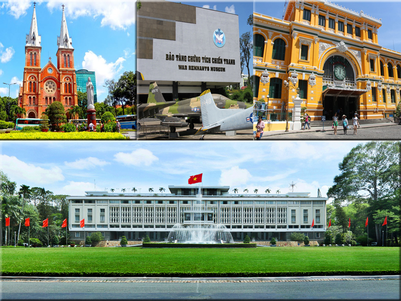 things to do in Saigon in 3 days historical area
