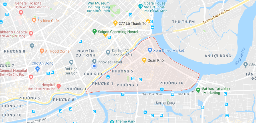 District 4 in Saigon a hidden gem that you may miss location
