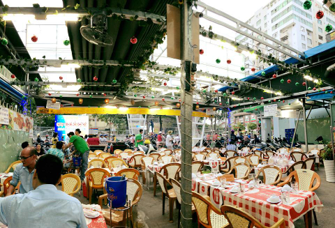 "District 4 in Saigon a hidden gem that you may miss local ""Quán Nhậu"""