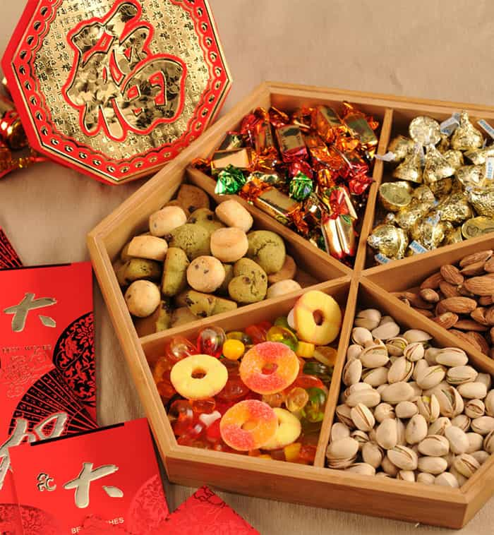 TET - Lunar New Year 2019 in Vietnam sweet snack during Tet