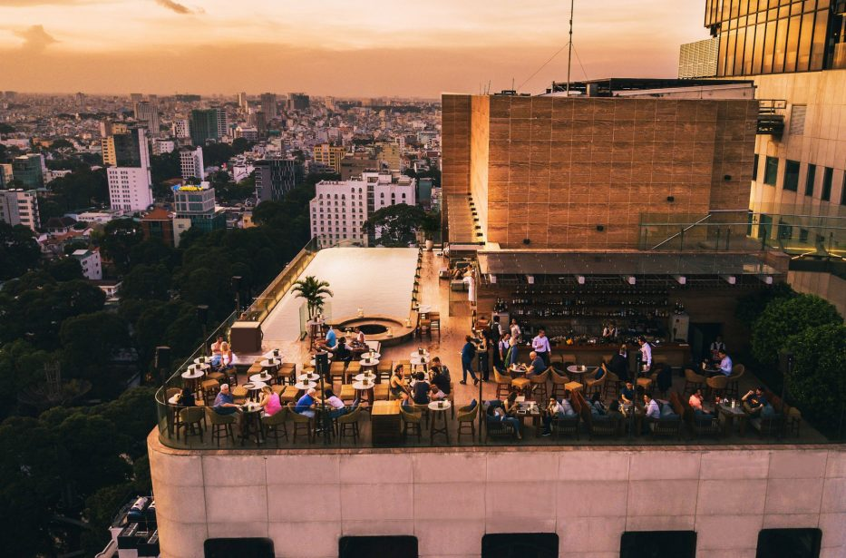 Top 5 rooftop bars in Saigon for celebrating New Year Eve in Saigon