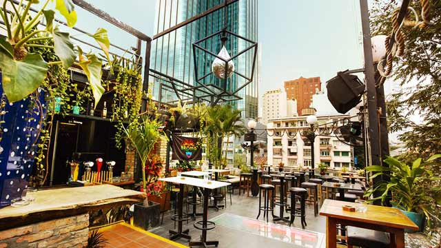Top 5 rooftop Bars in Saigon Broma not a bar
