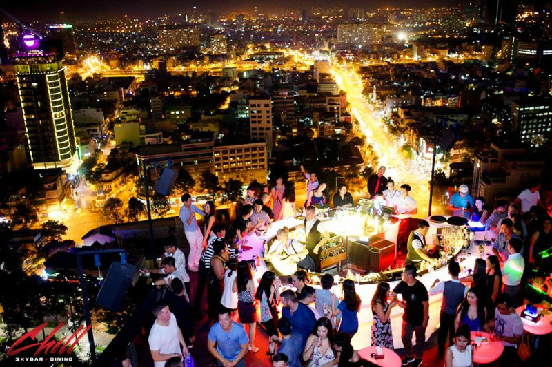 Top 5 rooftop Bars in Saigon