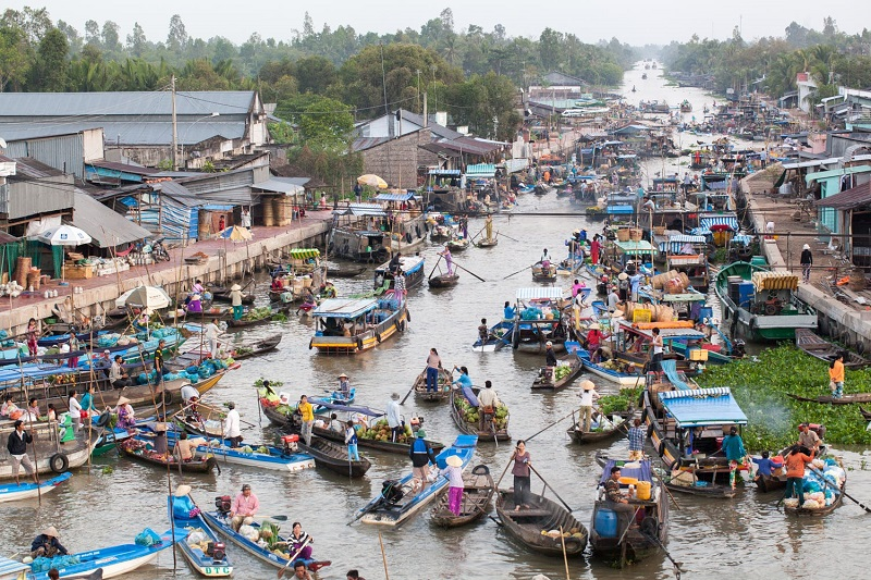 Mekong Delta Floating Markets - Things you need to know before traveling