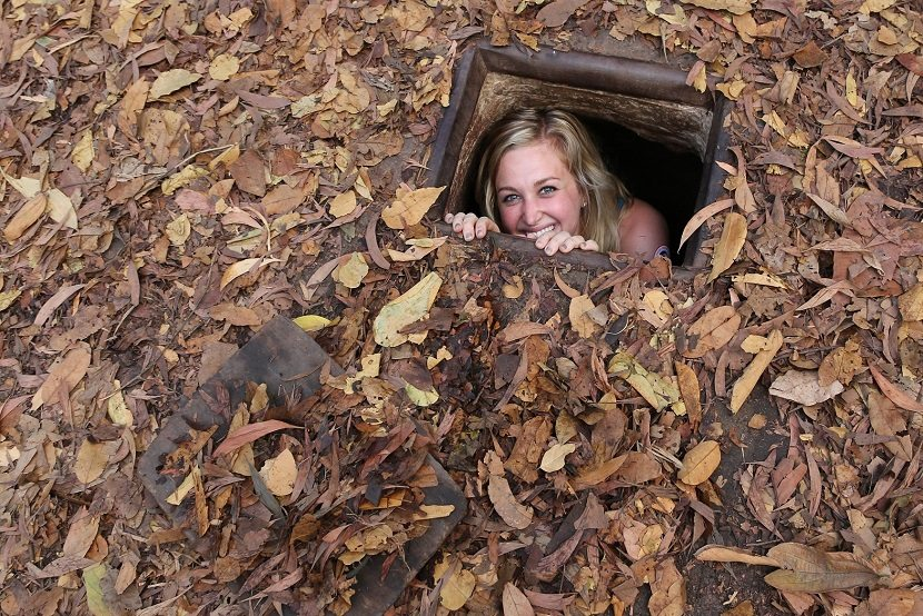 Why you should choose a half day small group tour to Cu Chi Tunnel