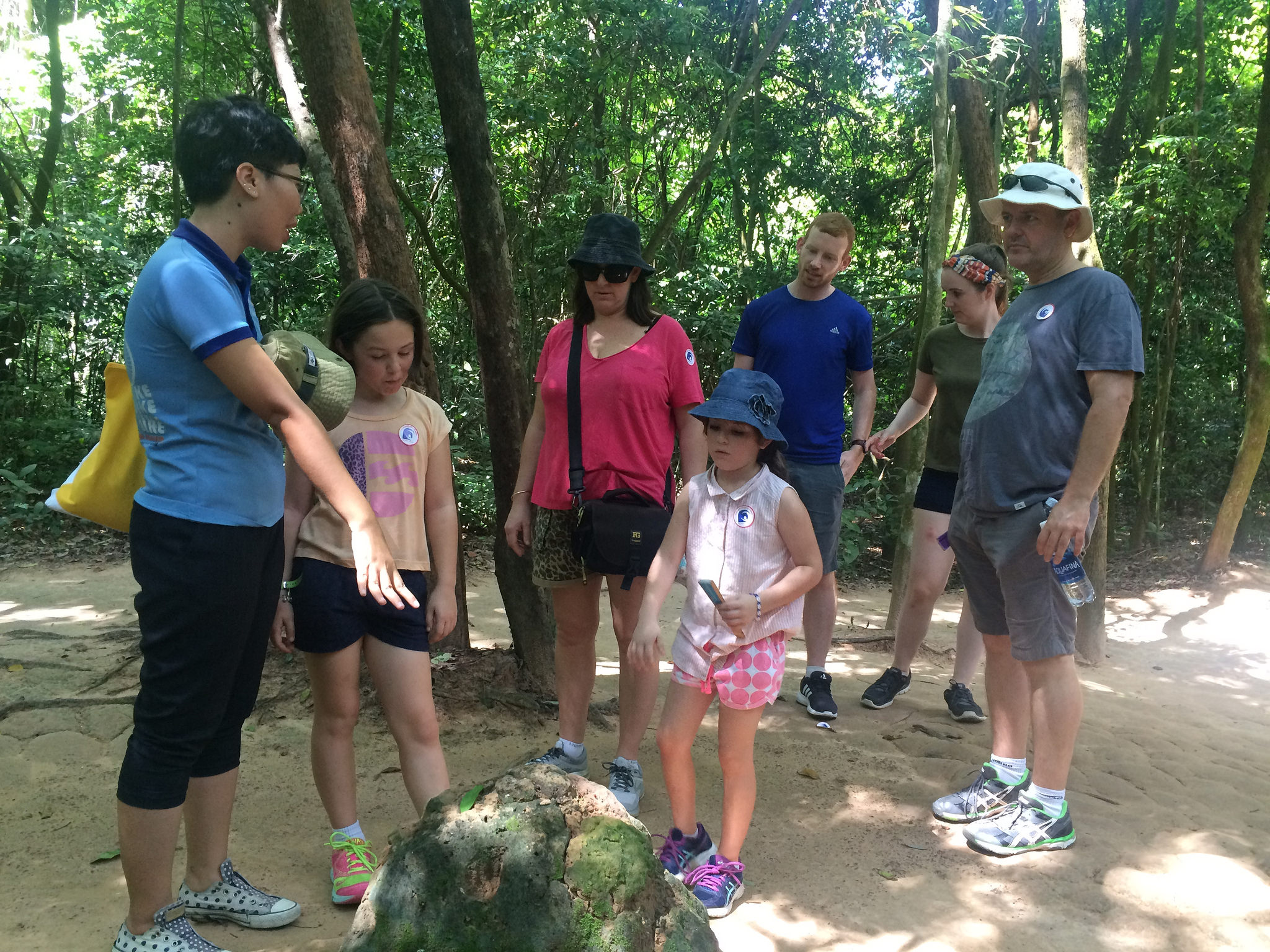 half day small group tour Cu Chi Tunnel