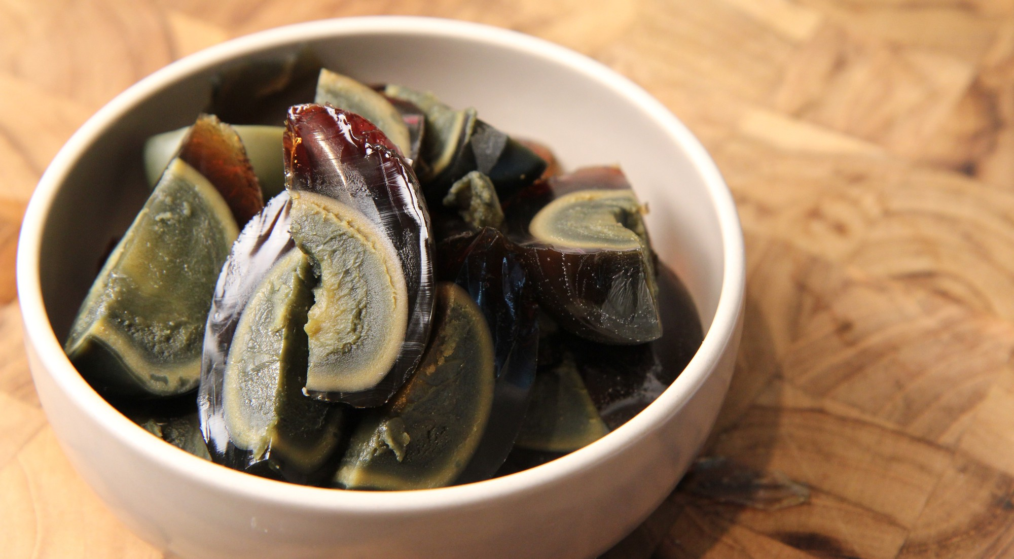 century egg- Saigon City tour