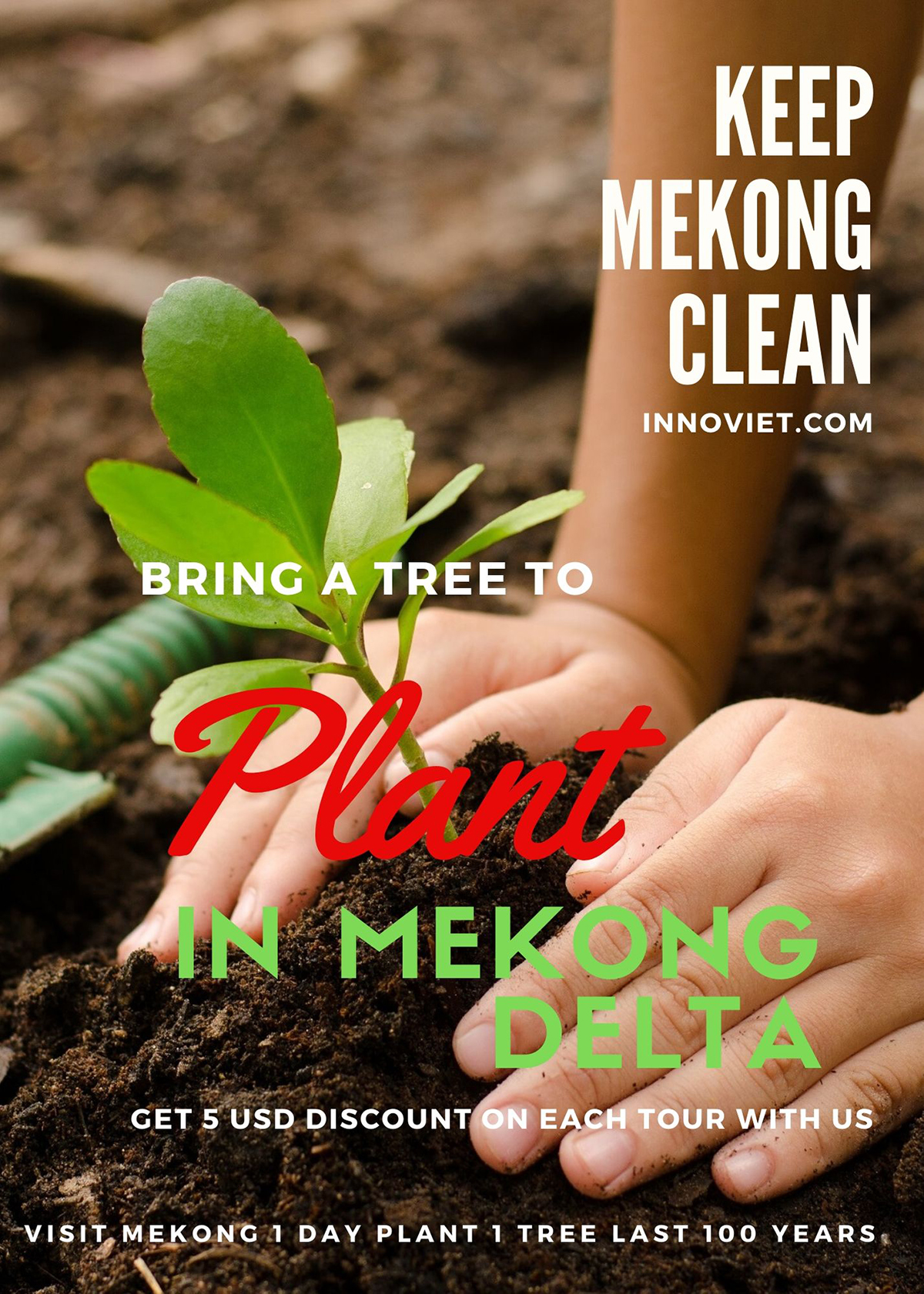 The meaning of Planting a tree in Mekong Delta